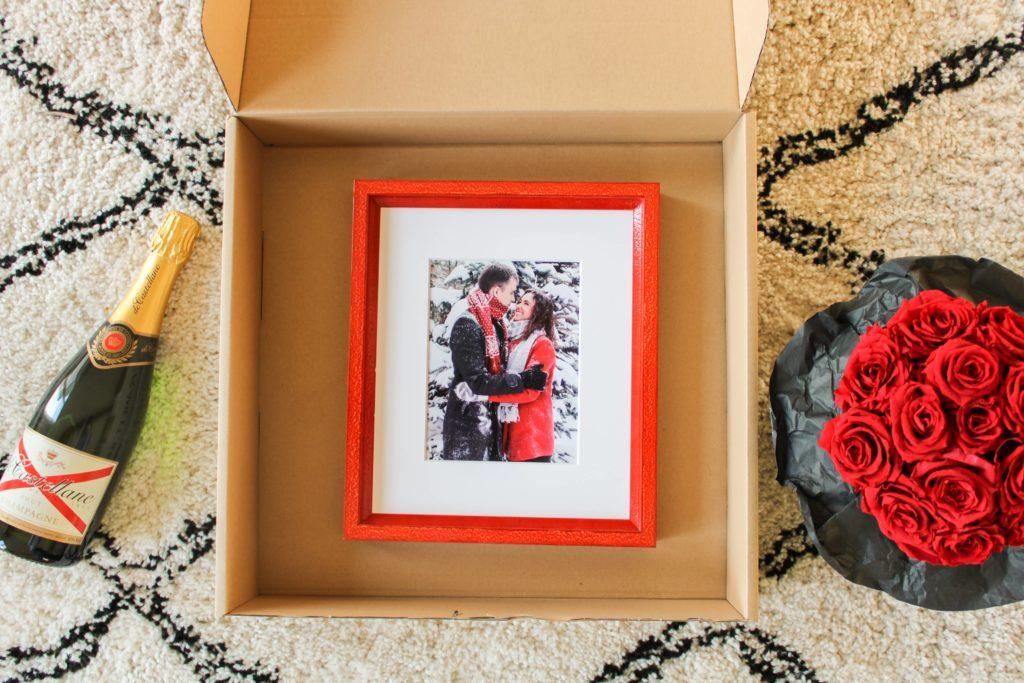 Fotokader rood valentijn cadeau