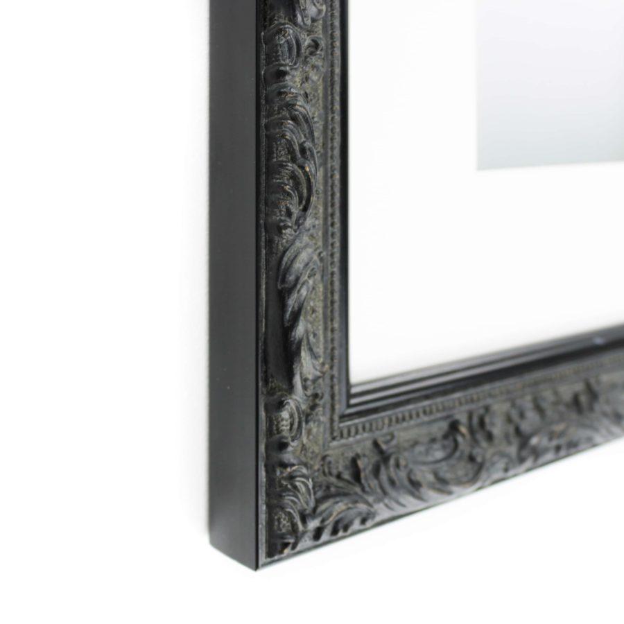 Zwarte barok kader collectie versailles