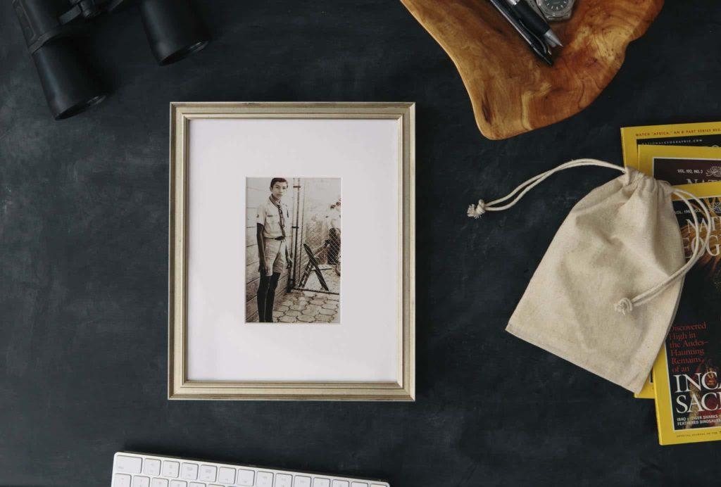 Cadeautip vaderdag: Vintage foto inkaderen of inlijsten